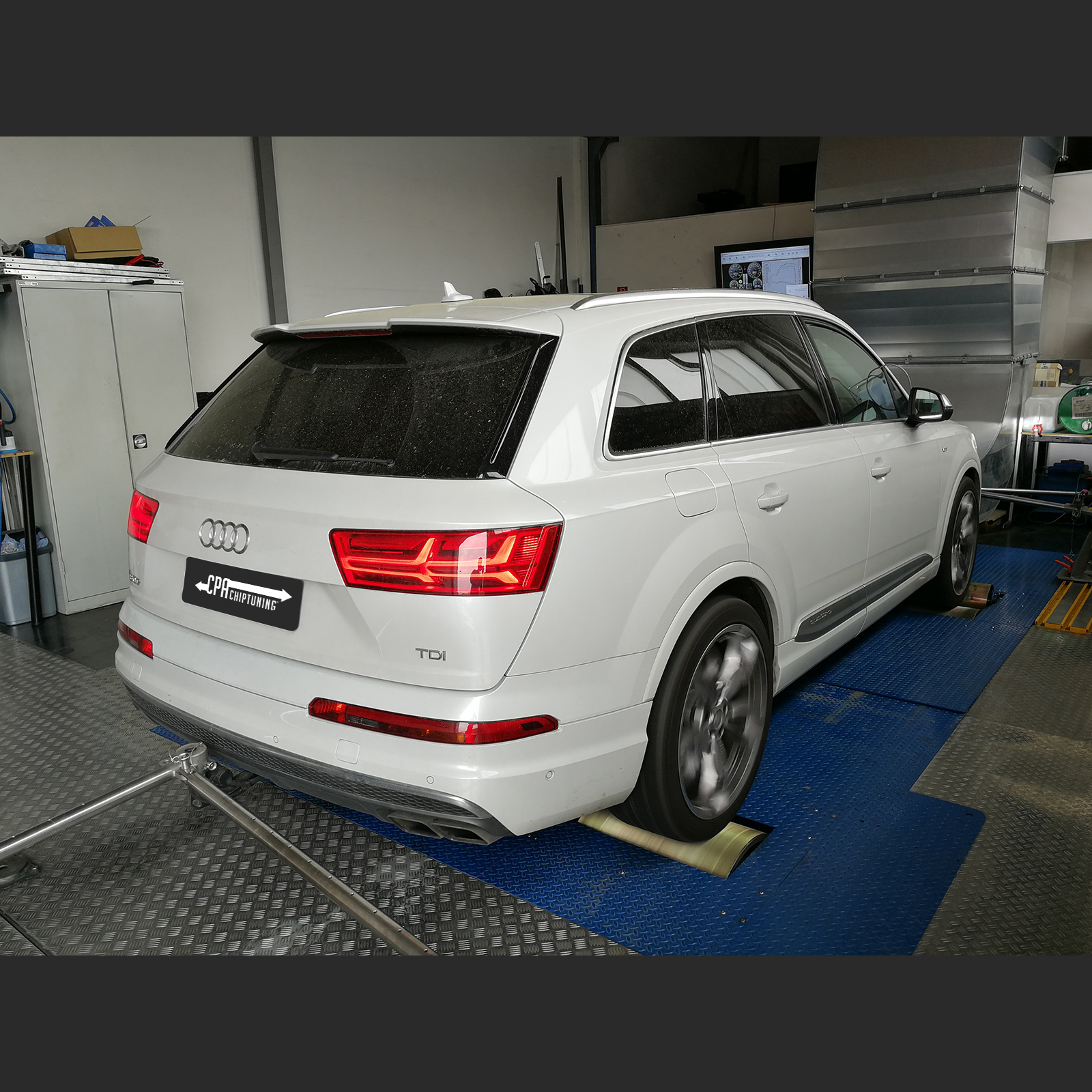 Audi SQ7 bourá limit 1000 Nm